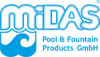 MIDAS Pool & Fountain Logo