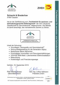 schacht-brederlow-mde-zertifikat-2014-sb-fachbetrieb-senioren-behindertengerechte-elektrotech