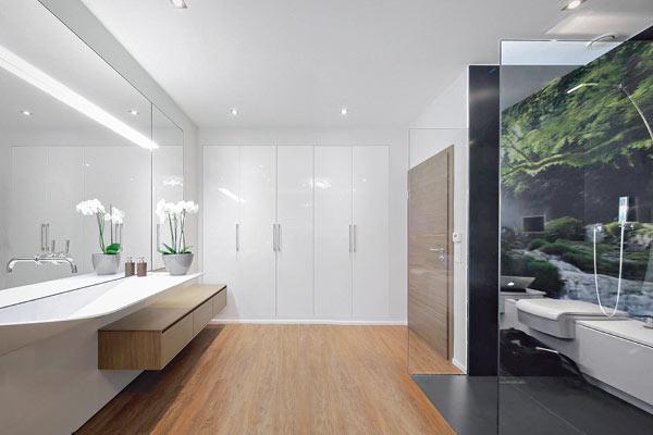 Wie im regenwald ein einzigartiges bad gestalten - Fototapete badezimmer ...